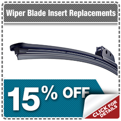 Subaru Windshield Wiper Insert Replacement Special in Indianapolis, IN