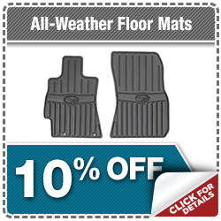 Subaru All-Weather Floor Mats Parts Special Serving Fishers, IN