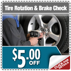 Click here to save with this outstanding special discount offer on Subaru Express Service Tire Rotation & Brake Check service in Indianapolis, IN