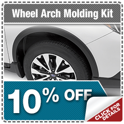 Subaru Wheel Arch Moldings Parts Special serving Zionsville, IN