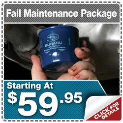 Click to View Our Subaru Fall Maintenance Service Special in Indianapolis, IN