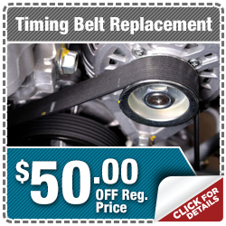 Click to Learn More About Our Subaru Timing Belt Replacement Service Special in Indianapolis, IN