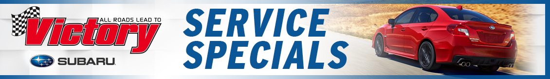 Save on Subaru service and repair with coupons from Victory Subaru in Somerset, NJ