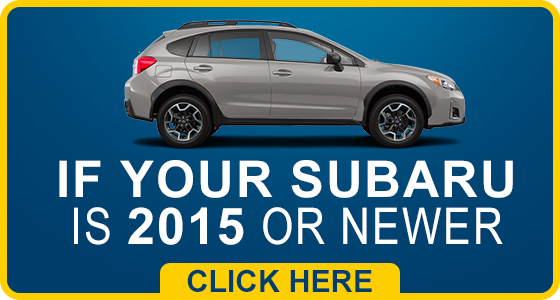 2015 or Newer Subaru Model Service Intervals in Somerset, NJ