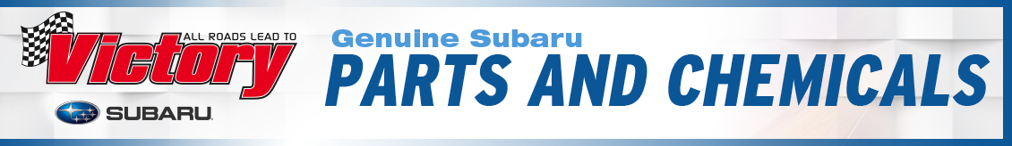 Genuine Subaru Parts and Chemicals available at Victory Subaru in Somerset, NJ