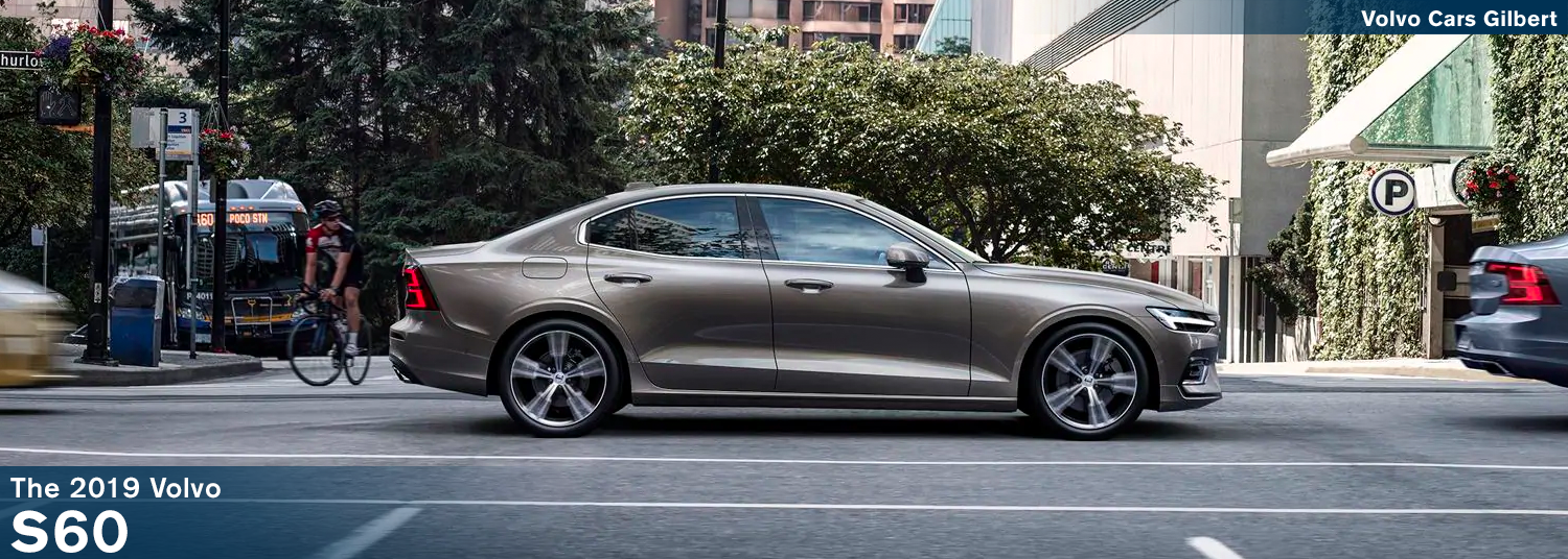 Review the new 2019 Volvo S60 Model Information and take a test drive in Gilbert, AZ