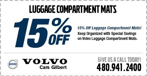 Purchase Luggage Compartment Mats For a Special Price at Volvo Cars Gilbert