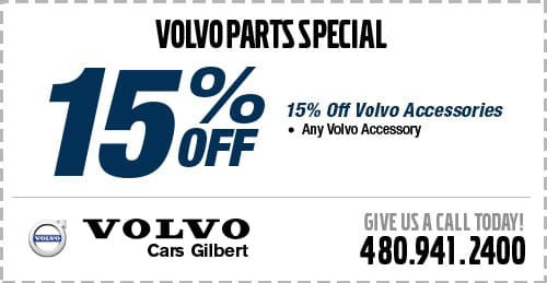 Accessories Specials at Volvo Cars Gilbert