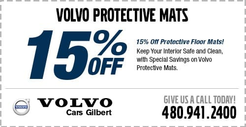 Protective Volvo Floor Mats Parts Specials Gilbert, AZ