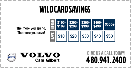 Pick your savings during August with this Wild Card Savings service special.