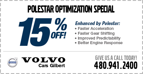 Click to view our polestar optimization service special at Volvo Cars Gilbert
