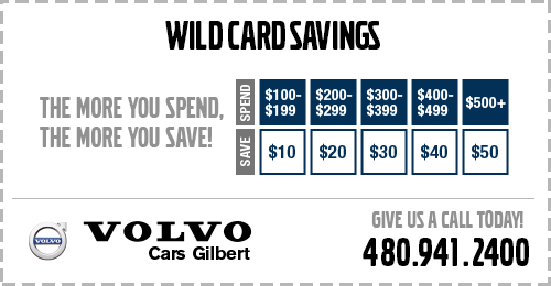 Pick your savings during October with this Wild Card Savings service special.