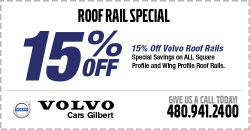 Click to view our Volvo Roof Accessories parts special at Volvo Cars Gilbert