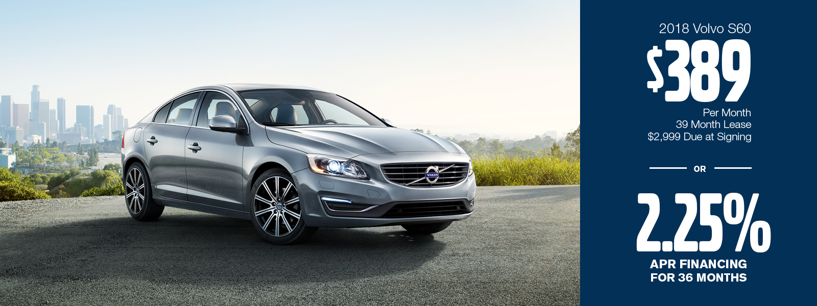 2018 Volvo S60 Lease or Low APR Special in Gilbert, AZ