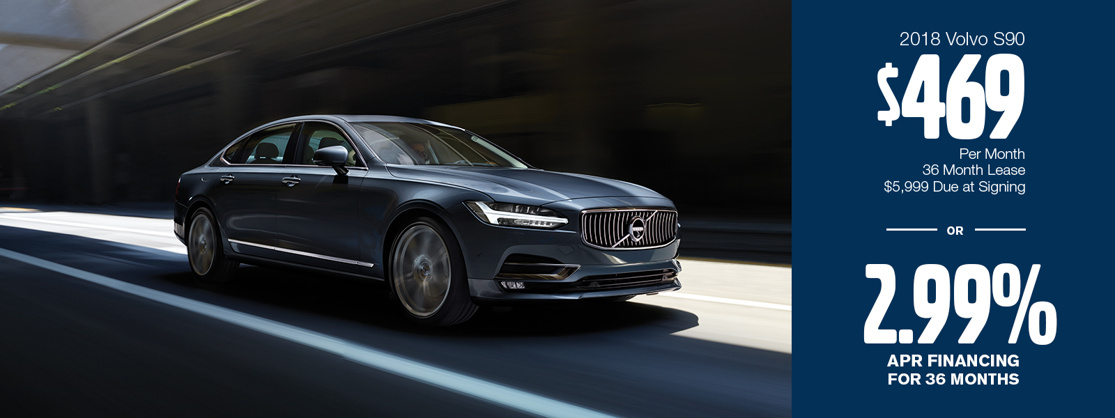 2018 Volvo S90 Lease or Low APR Finance Special in Gilbert, AZ