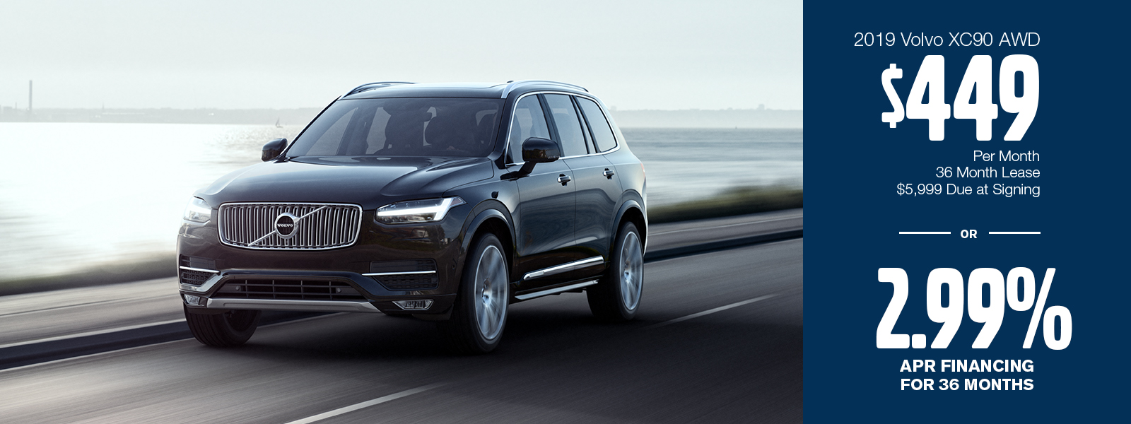 2019 Volvo XC90 T5 Momentum AWD Low Payment Lease or Finance Special in Gilbert, AZ