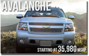New 2013 Chevy Avalanche at Wentworth Chevrolet Portland, Oregon City, Vancouver WA, Beaverton, Gresham, OR
