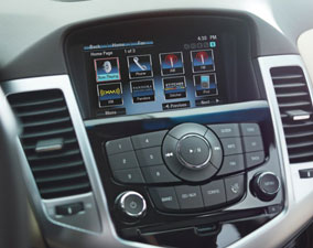 Marvelous New 2013 Chevy Cruze Infotainment Center