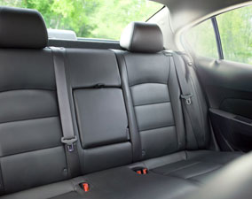 New 2013 Chevy Cruze Rear Interior Leather Seating