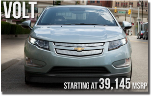 New 2013 Chevy Volt at Wentworth Chevrolet Portland, Oregon City, Vancouver WA, Beaverton, Gresham, OR