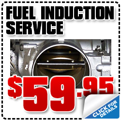 Chevrolet Fuel Induction Service Discount Coupon, Car Repair, Maintenance, Special, Portland, Oregon