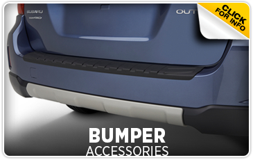 Learn more about genuine Subaru bumper accessories in Portland, OR