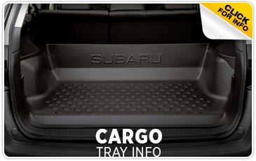 Learn more about genuine Subaru cargo tray in Portland, OR
