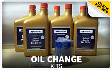 Learn more about genuine Subaru oil change kits in Portland, OR