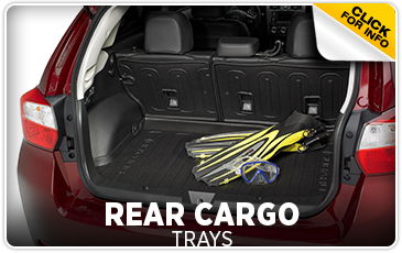 Learn more about genuine Subaru rear cargo trays in Portland, OR
