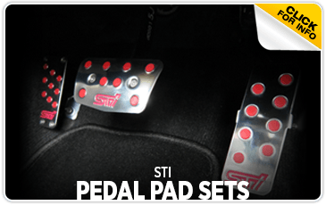 Research the STI Pedal Pad Set at Wentworth Subaru in Portland, OR
