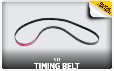 Click to view our STI Timing Belt performance parts information at Wentworth Subaru