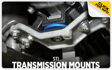 Click to view our STI Transmission Mounts performance parts information at Wentworth Subaru