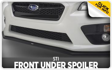 Click to view our STI Under Spoiler - Front performance parts information at Wentworth Subaru
