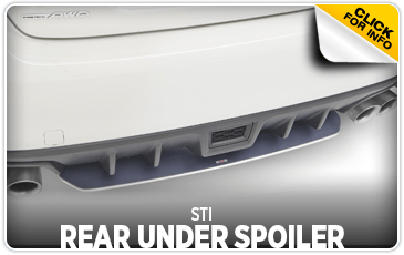 Click to view our STI Under Spoiler - Rear performance parts information at Wentworth Subaru