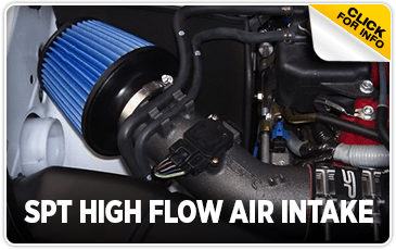Click to view our SPT High Flow Air Intake performance parts information at Wentworth Subaru