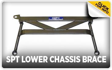 Click to view our SPT Lower Chassis Brace performance parts information at Wentworth Subaru