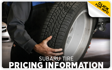 Click to view our tire pricing Subaru service faq in Portland, OR