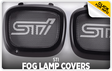 Click to view our STI Fog Lamp Covers performance parts information at Wentworth Subaru