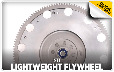 Click to view our STI Lightweight Flywheel performance parts information at Wentworth Subaru