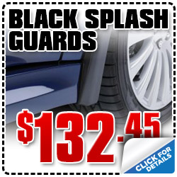 Genuine Subaru Black Splash Guards on sale at Wentworth Subaru in Portland, Oregon