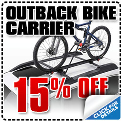 Click to view our Subaru Outback bike carrier parts special in Portland, OR