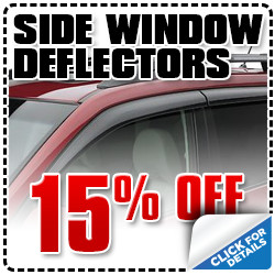 Click to view our Subaru side window delfectors parts special in Portland, OR