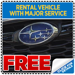 Click to print this coupon for your Complimentary Rental Vehicle from Wentworth Subaru