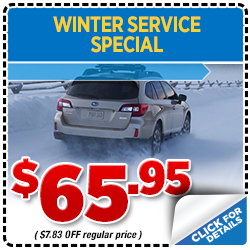 Click to print this coupon and save on your next Portland, OR area Cold Weather Automotive Maintenance service from Wentworth Subaru