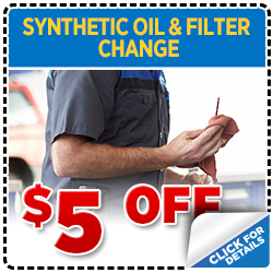 Click to print this coupon and save on your next Portland, OR area synthetic oil change from Wentworth Subaru