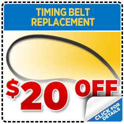 Click to print this coupon and save on your next Portland, OR area timing belt service from Wentworth Subaru