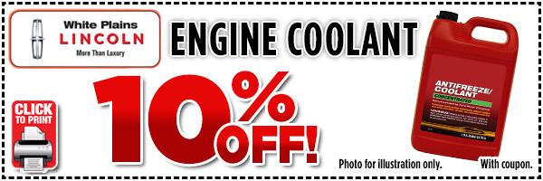 Lincoln Engine Coolant Special serving White Plains, New York