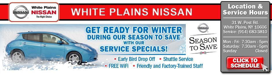 Westchester Nissan Service Specials serving New York