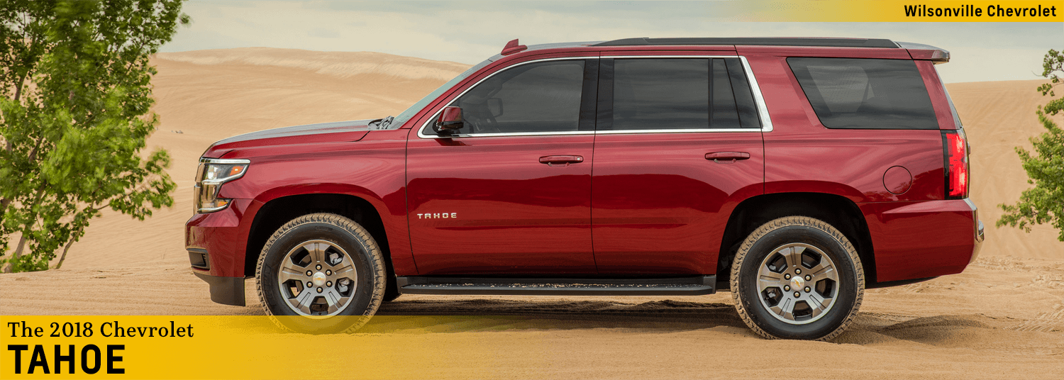 new 2018 chevrolet tahoe features & details - suv model research