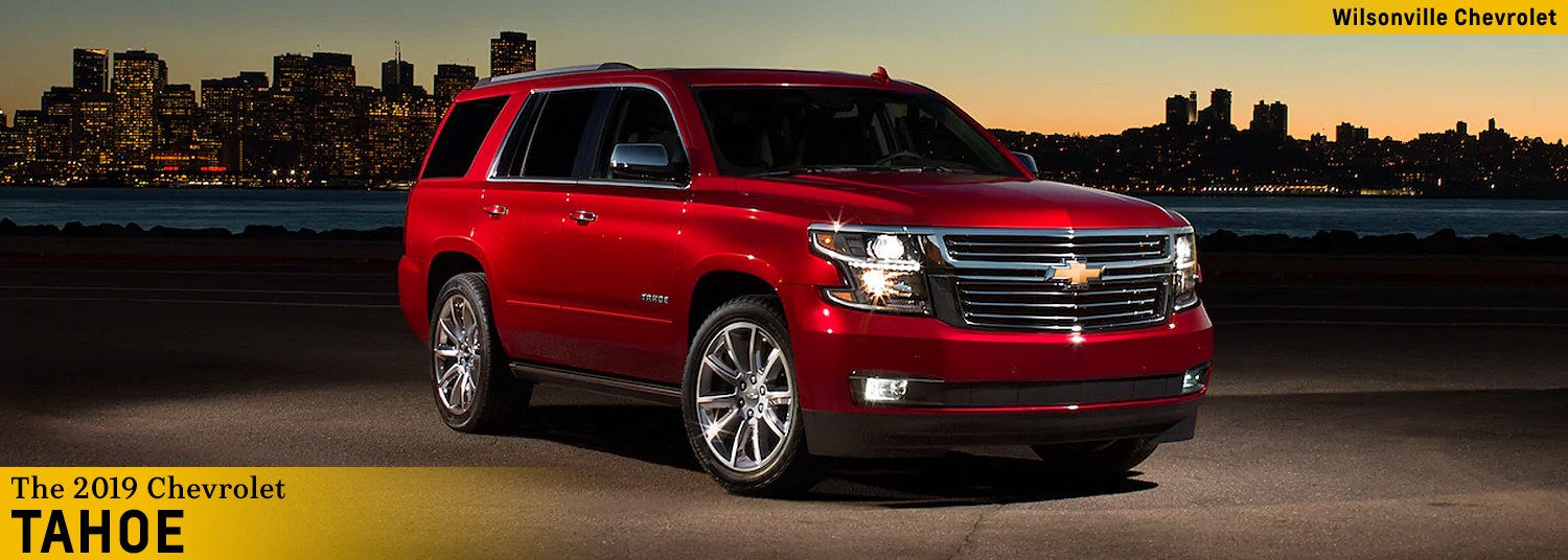2019 Chevy Tahoe   Wilsonville OR Full-Size SUV Information